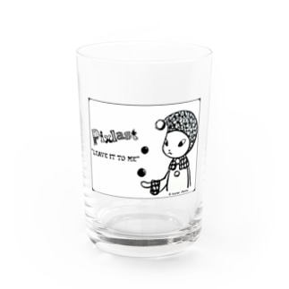 "Pixlast(ボガー)マジックver.2 ""Leave it to me"" Water Glass"