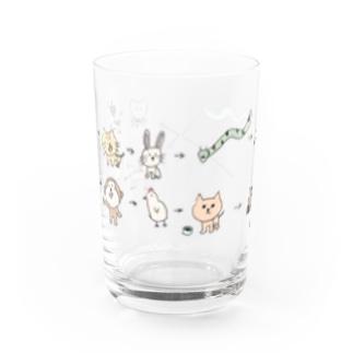 さっちの干支カラー Water Glass