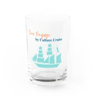「Bon Voyage」by Culture Cruise Water Glass