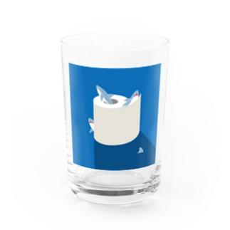 夜のSAME Paper Water Glass