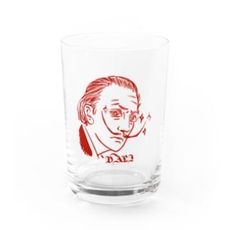 GraphicersのRed DALI Water Glass