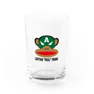 "CAPTAIN  ""PAUL""  FRANK Water Glass"