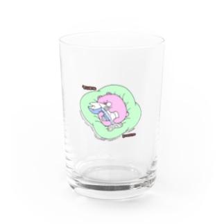 冬眠くまさん Water Glass