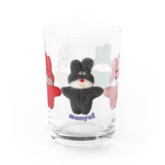 手つなぎフニミちゃんズ Water Glass