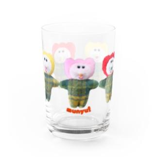 手つなぎチューリップクズ Water Glass