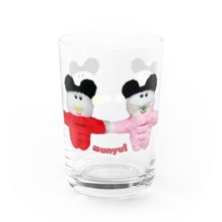 手つなぎプクハオズ Water Glass
