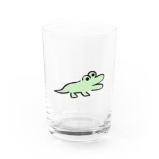 DHKN7 わに Water Glass