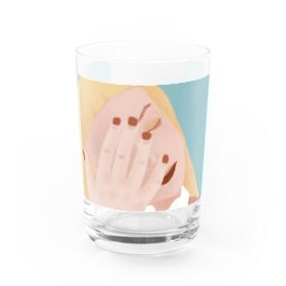 爪の色が好きな色 Water Glass