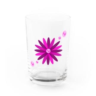 パールフラワーA Water Glass