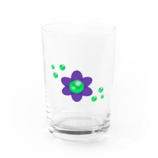 パールフラワーC Water Glass