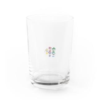 rainbowず Water Glass