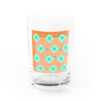 レトロな春の香り Water Glass