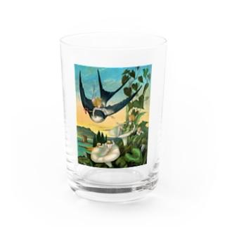 エレナー・ヴェア・ボイル 《おやゆび姫》 Water Glass
