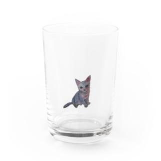 子猫 小物 Water Glass