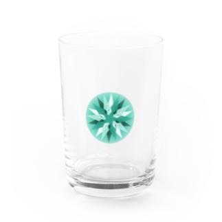 5月のemerald Water Glass