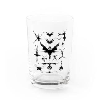 霧蛾夢虫01 Water Glass