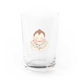 ちびろか Water Glass