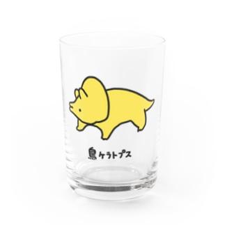 鳥ケラトプス Water Glass