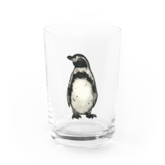 一寸五分舎のフンボルトペンギン Water Glass