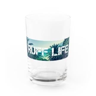 Ruff Life オリジナルフォト Water Glass