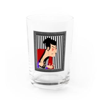 東洲斎 写楽 Water Glass