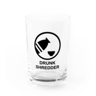 DRUNK SHREDDER Water Glass