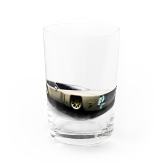 GRAY SCALE Journey V8(Full color) Water Glass