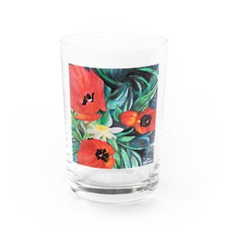 Tulips&Narcissus A Water Glass