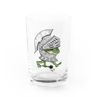 BRUTAL FROG ARMY Water Glass