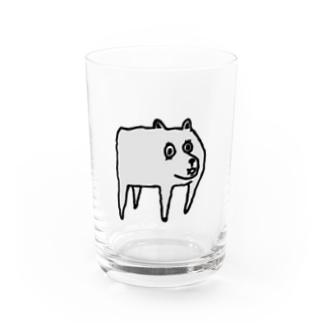 YTRのDOG Water Glass