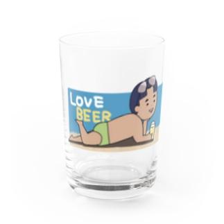 ビールボーイ(まさし) Water Glass