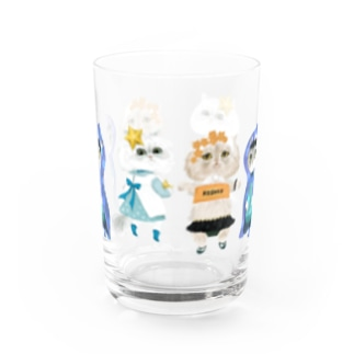 なつめ・翠・ぷりん Water Glass