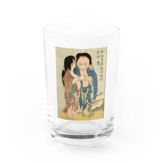 葛飾北斎 春画 妖怪 Water Glass