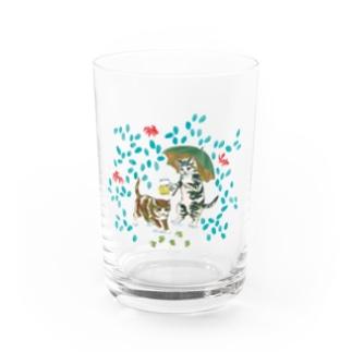SAKURAYAMA HOP CAT Water Glass