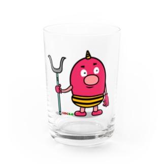 じごく2.0 赤鬼くん Water Glass