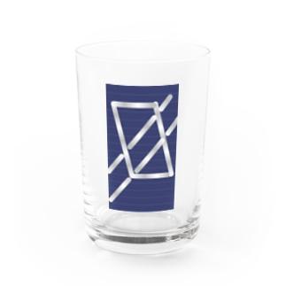 四角パターン3 Water Glass