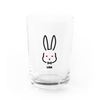 USA Water Glass