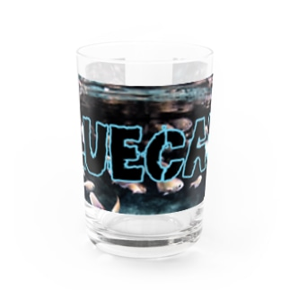 [BLUECAVEロゴ] Water Glass