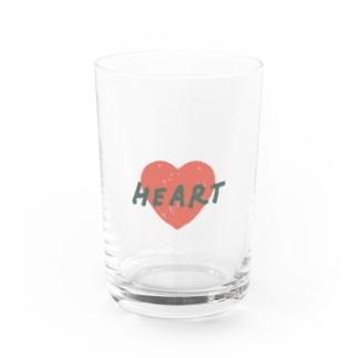 HEART Water Glass