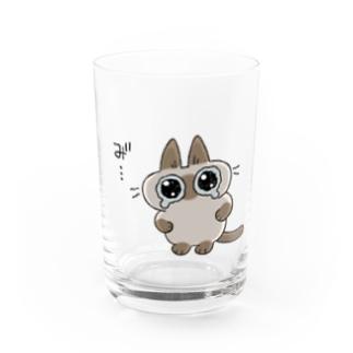 """み""""…(あずきさんver.) Water Glass"""