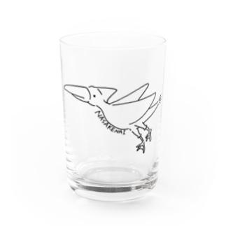 NASAKENAIとり Water Glass