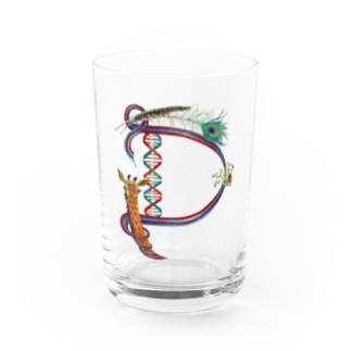 """""""D""""  Wonderalphabet Water Glass"""