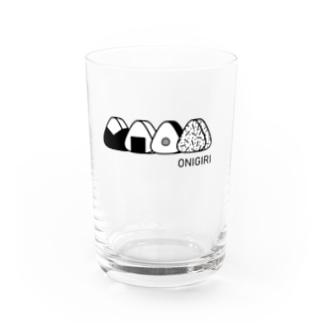 ONIGIRI おにぎり生活 Water Glass