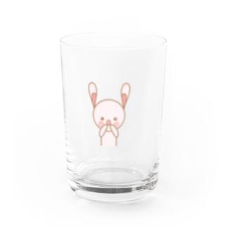 うさぎのももうさ Water Glass
