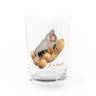 【D】ピーナッツ・大粒 Water Glass