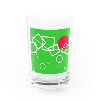 sagのmelon  soda Water Glass