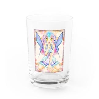 妖精ちゃん Water Glass