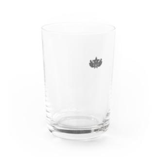 大日本帝国陸軍近衛師団帽章(ワンポイント グレー) Water Glass