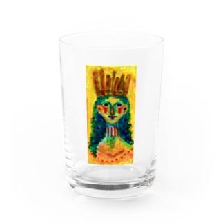 太陽祭に参加する人 Water Glass