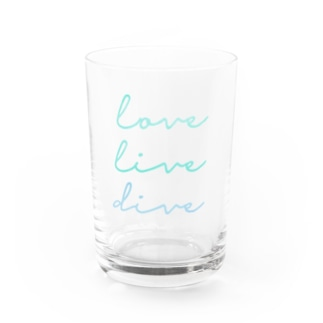 love live dive Water Glass